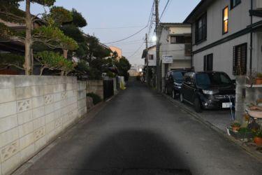 上新井5丁目石井邸・前面道路 (1)