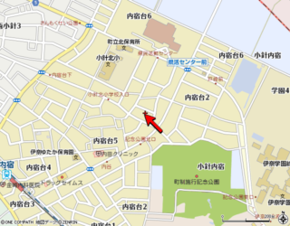 伊奈町・佐藤邸案内図